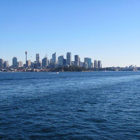 Sydney Ferries: Vista dal Traghetto.