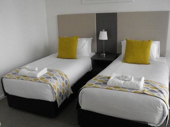 Melbourne Short Stay Apartments Southbank Collection: twin room