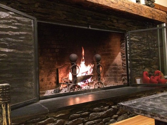 The Trailside Inn: Main Hall Fireplace