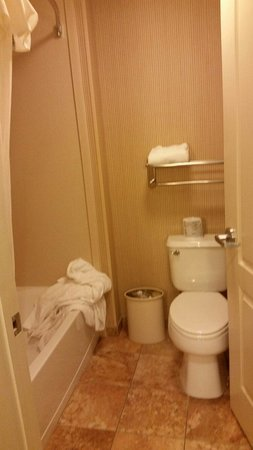 Homewood Suites by Hilton Portland: Toilet/bathtub shower combination separate