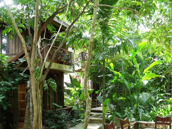 Phu Pha Ao Nang Resort and Spa: view of the bungalow of the garden