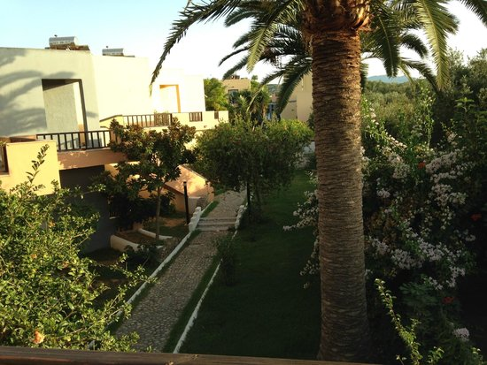 Pergamos Village: The view from room 105