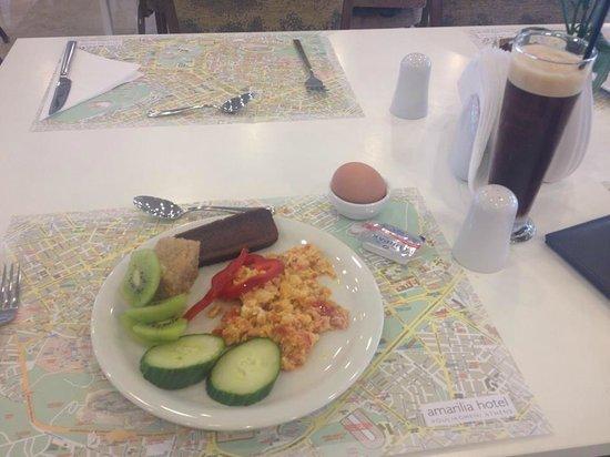 Amarilia Hotel: Just some breakfast :)