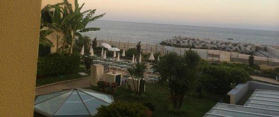 Porto Santa Maria Hotel : Sea view from the room