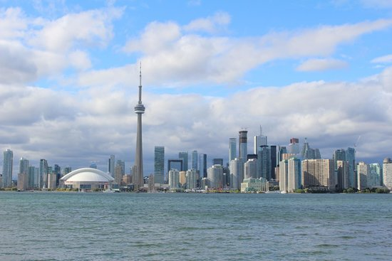 Parc des Îles de Toronto : View of Toronto from island