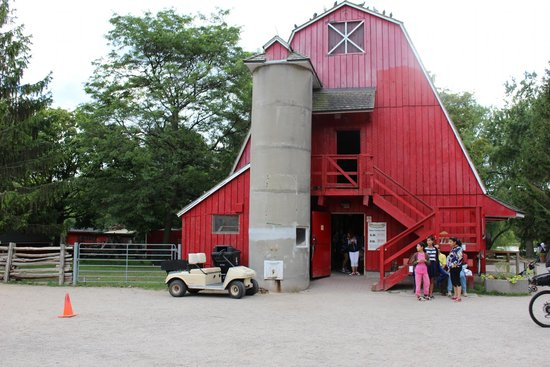 Parc des Îles de Toronto : Farm/zoo on the island