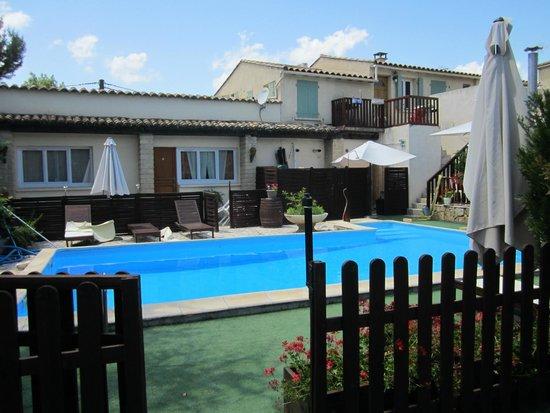 L'Auberge d'Uzes : het mooie zwembad