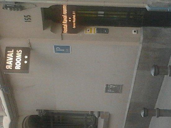 Raval Rooms Barcelona: ingresso