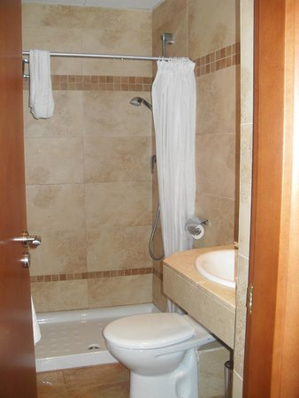 Hotel Carlos V : Toilet/shower