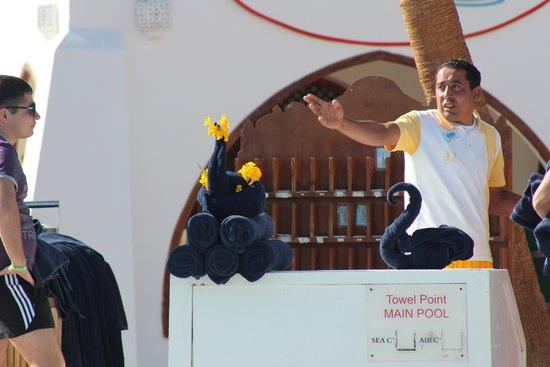 Domina Coral Bay Sultan: Mr. Ashraf