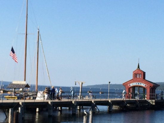 Schooner Excursions, Inc: Watkins Glen Harbor, Schooner docked