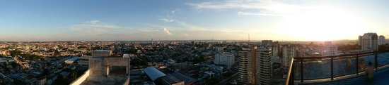 Intercity Manaus: Rooftop view to river