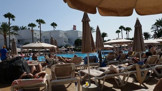 ClubHotel Riu Paraiso Lanzarote Resort: vista piscina
