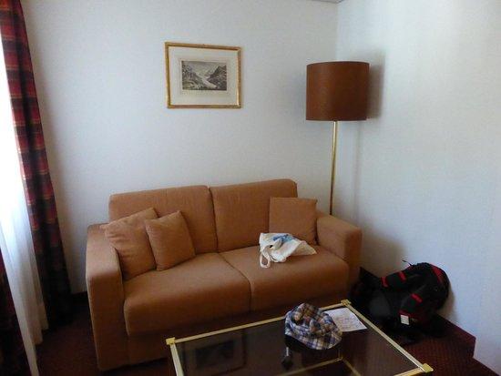 Hotel Kreuz & Post: ソファー