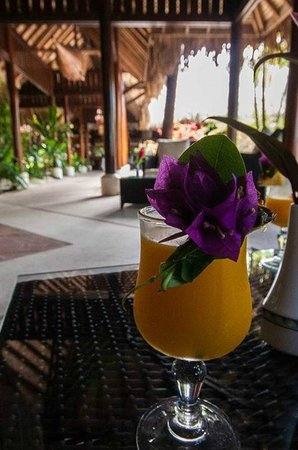 Maitai Polynesia Bora Bora : Welcome drink