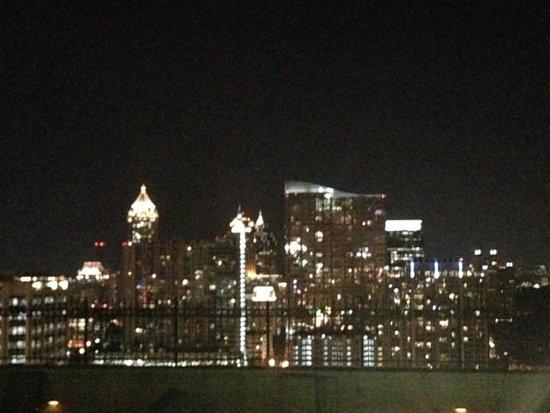 The Georgian Terrace Hotel: Night view of Atlanta