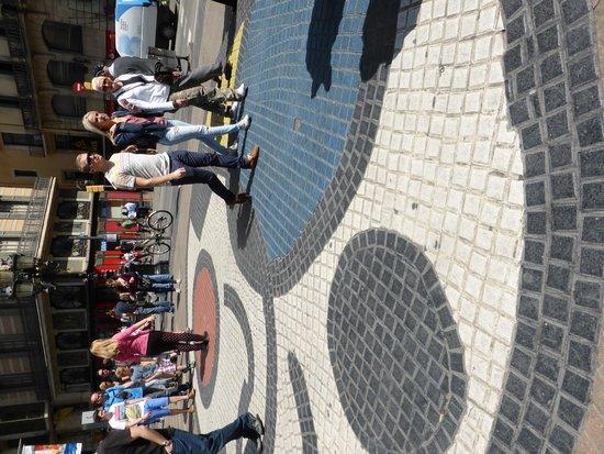 Las Ramblas: The Miro Mosaic