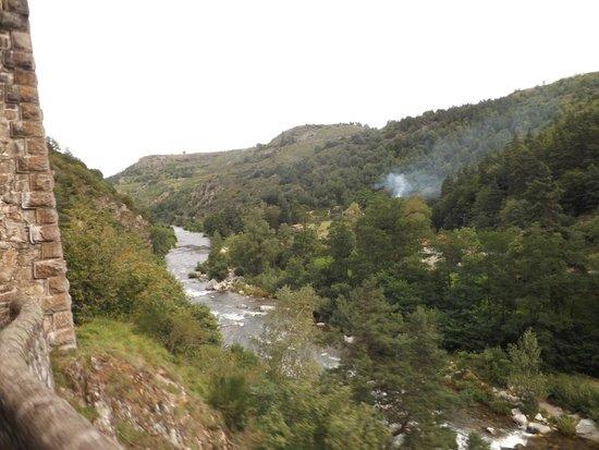 Train Touristique des Gorges de l'Allier: gorges de l'allier