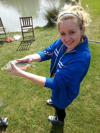 Tattershall Lakes Country Park: caught my first fish