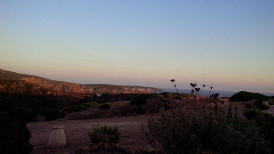 Poecylia Resort: VISTA AL TRAMONTO