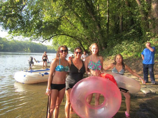 Delaware River Tubing: After the ride was over