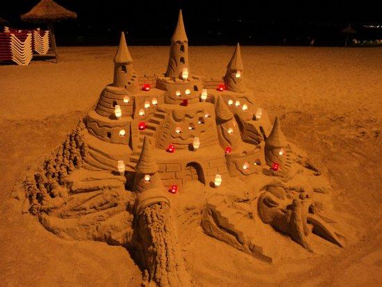 Caballero Hotel: castello di sabbia