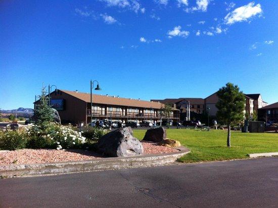 Esterno del Bryce View Lodge