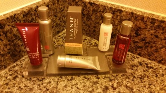Albuquerque Marriott: toiletries