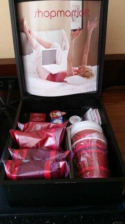 Albuquerque Marriott : coffee/tea in room