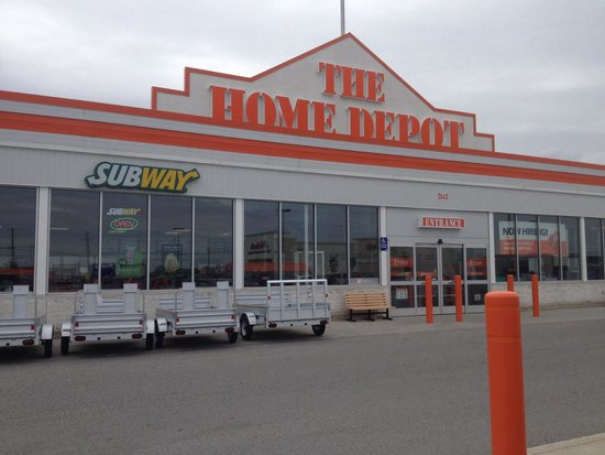 Timmins Subway Inside Home Depot - Picture Of Subway, Timmins