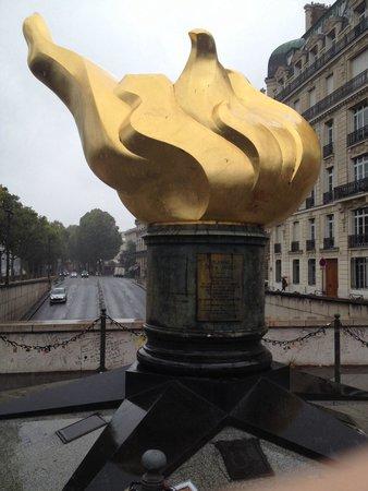 Liberty Flame: The flame - in the rain :/