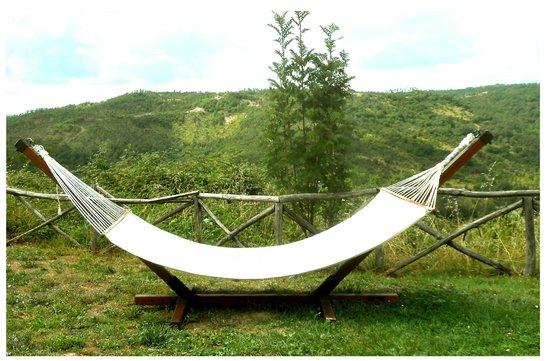 Guinzano: un amaca per relax