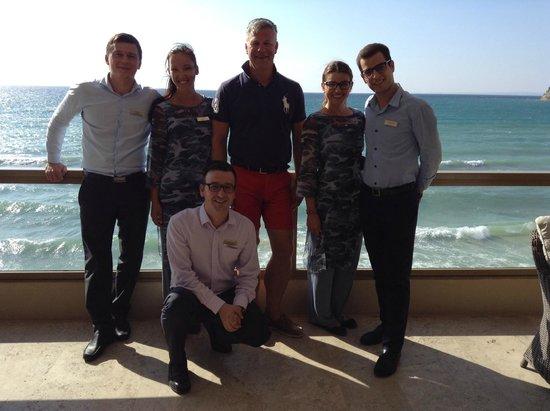 Sani Beach Club: Team Sani