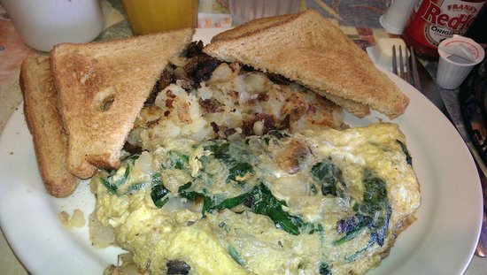 Downtown Cafe: Florentine omelette is AMAZING!!