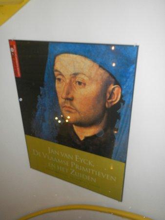 Hotel Van Eyck: mr van eyck hmself