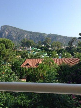 Sultan Beldibi : View from balcony