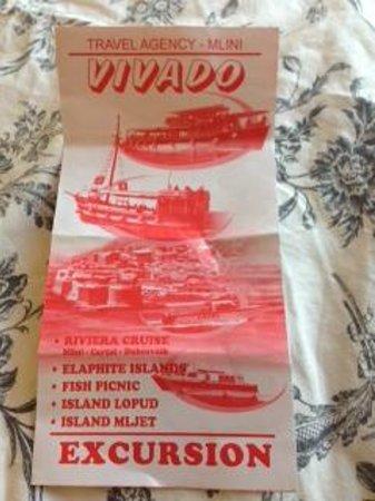 Three island cruise : Vivado Travel Agency Mlini brochure