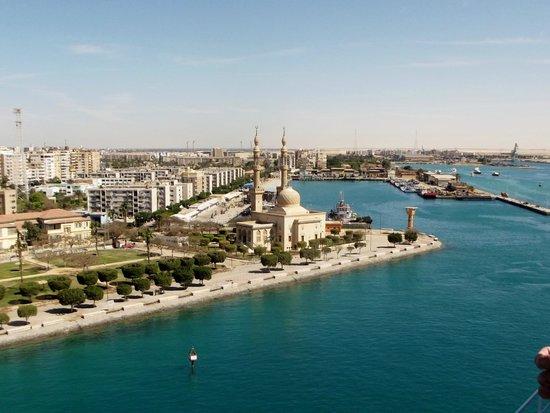 Suez Canal: verso Ismailia