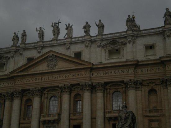 Petersplatz (Piazza San Pietro): plaza de san pedro-roma