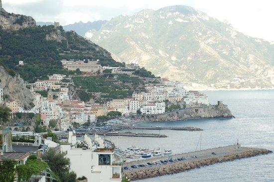 سانتا كاترينا: View from balcony of Amalfi