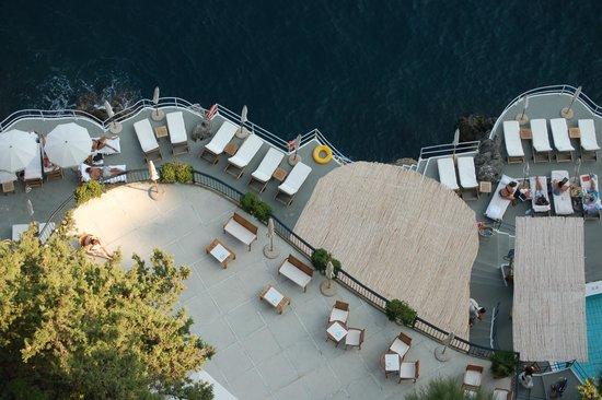 Santa Caterina Hotel: Sun bathing area