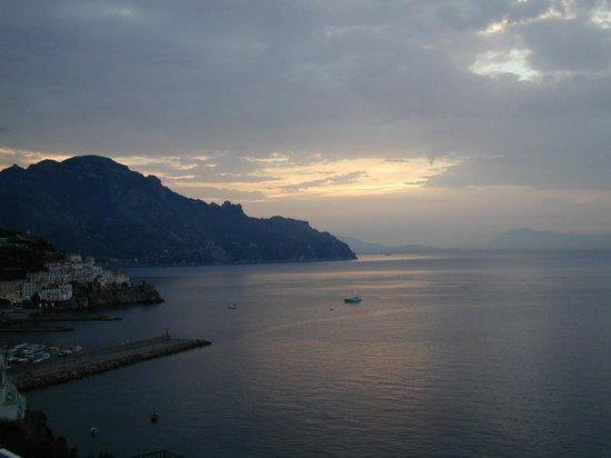 Santa Caterina Hotel: Sunset