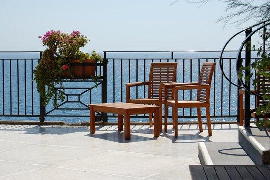 Santa Caterina Hotel: Just by Restaurant