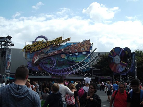 Walt Disney Studios: giostra ideata dagli aerosmith