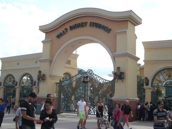 Walt Disney Studios: entrata