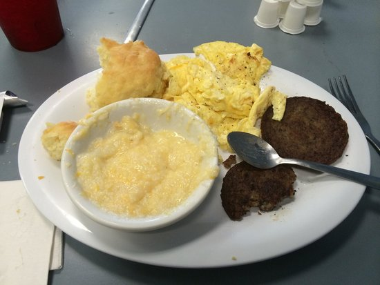 Grits Grill : Not worth the $ :-/// grits were the best part
