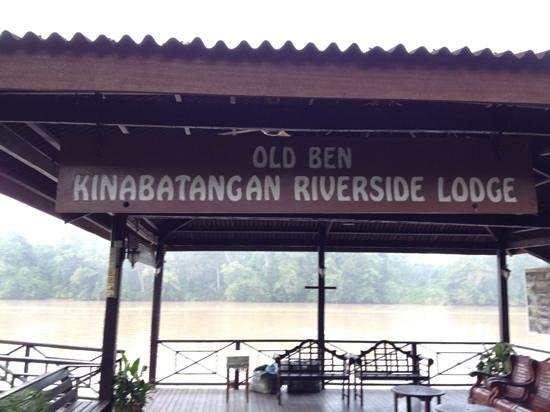 Kinabatangan Riverside Lodge: the jetty