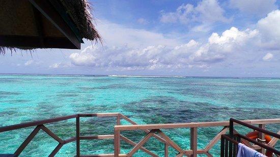 Four Seasons Resort Maldives at Kuda Huraa: View from the bungalow.