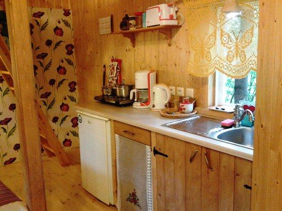 Tonise Holiday Houses: Кухня