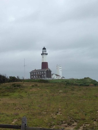 Montauk Point Lighthouse: The lighthouse